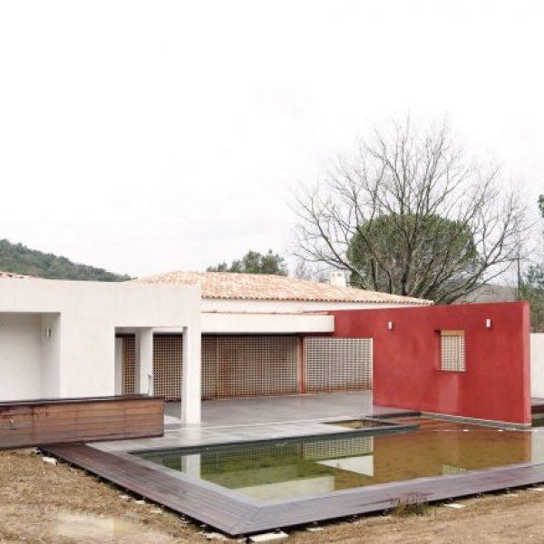 Villa contemporaine à Gassin